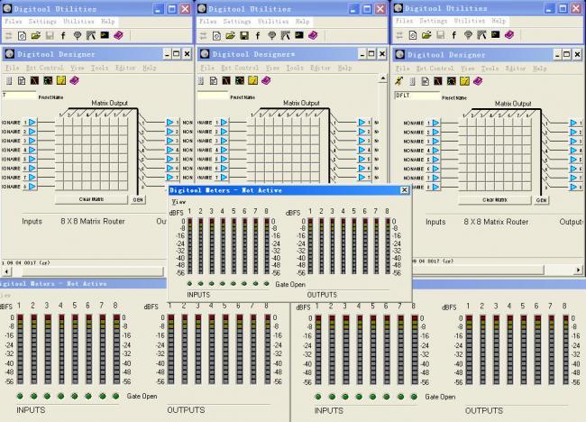 矩阵处理器在大型演唱会中的使用