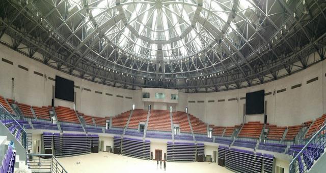 XYCAD 入驻西宁体育中心固定安装扩声系统调试完毕