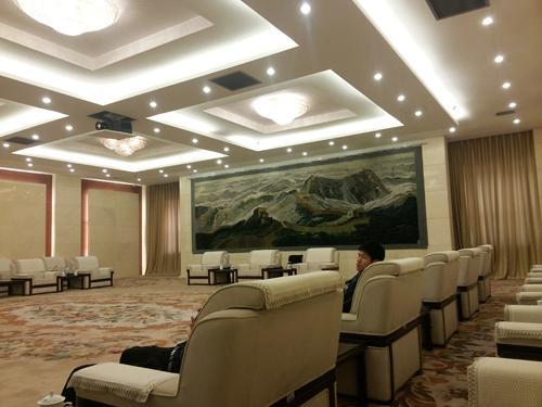 北京某军区学院贵宾接待厅采用稀客超薄音响