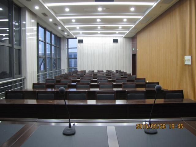 稀客音响为扬中大航集团会议厅提供扩声任务