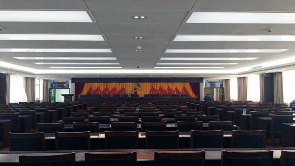 赣州市崇义县人民政府报告厅选用稀客音响
