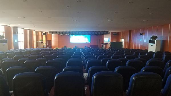 济宁市鱼台滨湖中学采用稀客音响