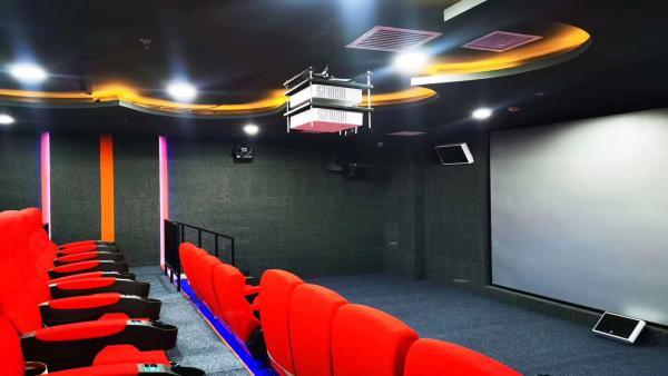 内蒙古包头市儿童褔利院5D动感影院采用稀客音响